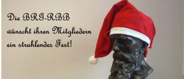 Die BRG-RBB wünscht ihren Mitgliedern frohe Weihnachten