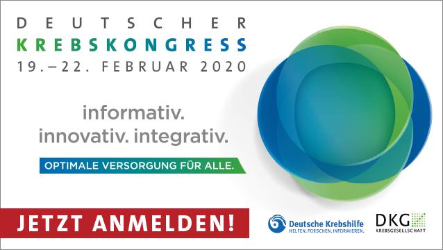 34. Deutscher Krebskongress 2020